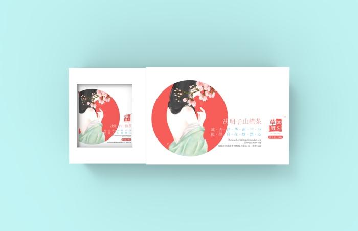 山楂茶包装设计 山楂 茶 茶包装 保健品 饮品 冲饮产品 女性茶 茶盒包