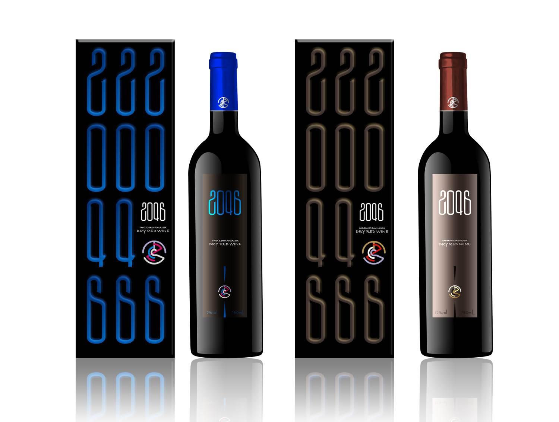 红酒包装设计,古一设计,酒水包装设计,酒标设计,标签设计