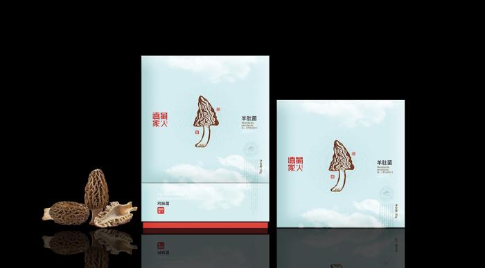 """云南""""滇蜀家人""""野生菌系列包装——意形社"""