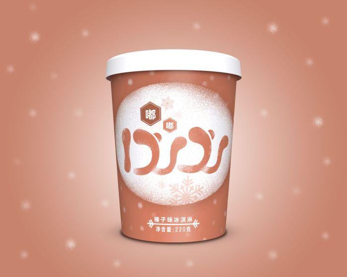 上海吾一设计—DUDU冰淇淋包装