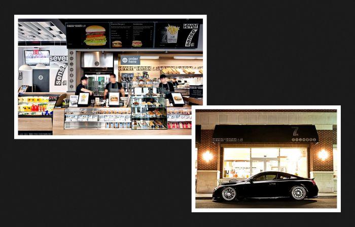 MOOMAD魔美设计|seven sense七感·餐饮品牌视觉设计