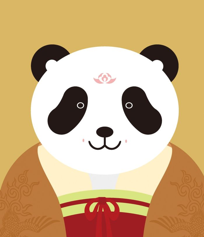 可爱简单动物妆容图片