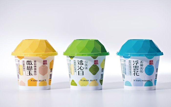優菓甜坊-中式甜品-品牌包裝設計